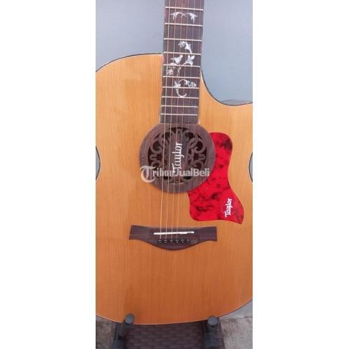 Gitar Akustik Custom High Quality Ready Baru Body Top Ciprus - Bekasi
