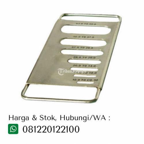 Termurah Alat Laboratorium Flakiness Gauge Bahan Metal Sheet - Tangerang