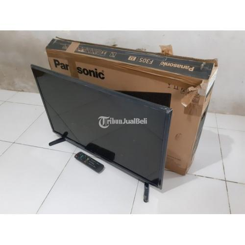 "TV LED Panasonic 32"" F305G HD TV Bisa Nonton Film Second Normal Mulus - Surabaya"