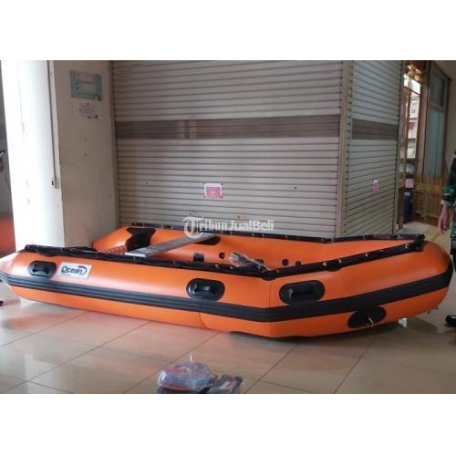 Perahu Karet OCEAN 380 Kapasitas 6 Orang Perekatan Welding Robber Boat Ocean - Tangerang