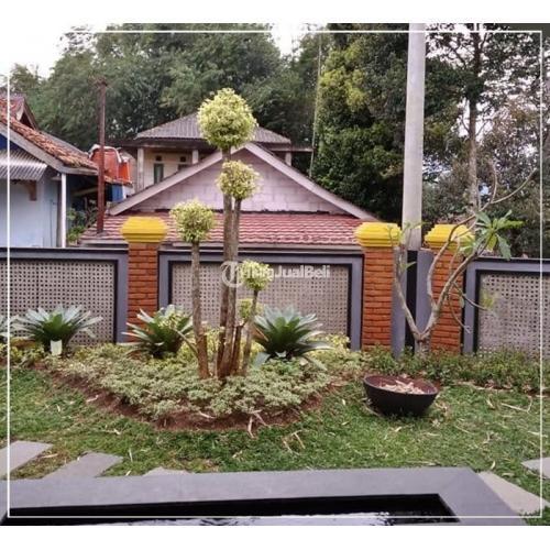 Dijual Villa 2 Lantai dan Kebun Hidroponik Luas 1000 m2 Bekas Sertifikat IMB SHM - Bogor