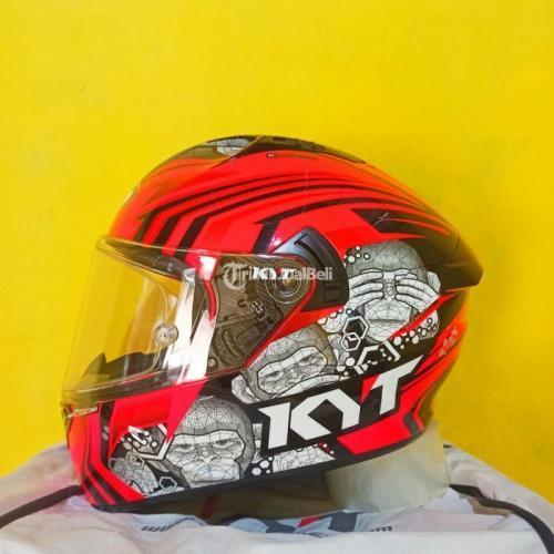 Helm Full Face KYT NFR Ratthapark Size M Bekas Mulus Tearwat Visor Clear Ori - Semarang