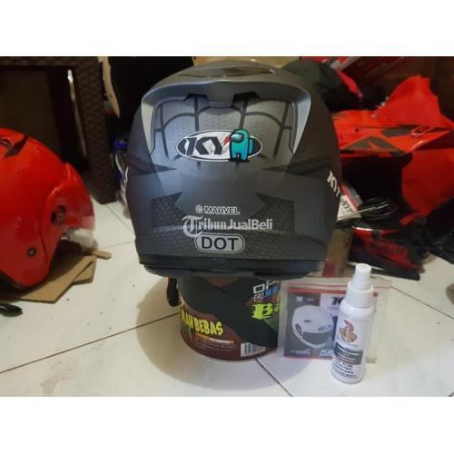Helm Full Face KYT K2rider Size L Bekas Mulus Spon Bersih Double Visor - Surabaya