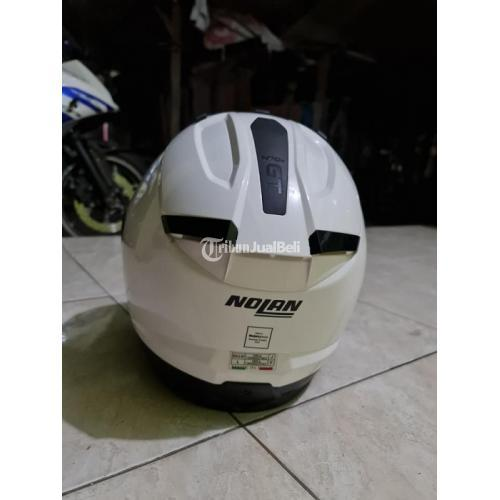 Helm Nolan N70.2 GT Classic Sukroo Size L Bekas Mulus Nominus Fullset - Sidoarjo