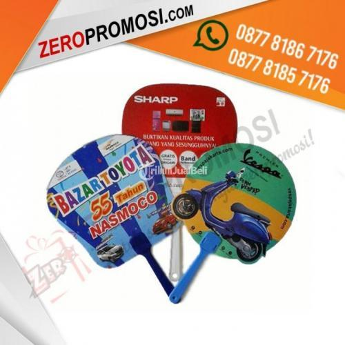 Souvenir Kipas Artpaper Printing Full Colour Logo Custom - Tangerang
