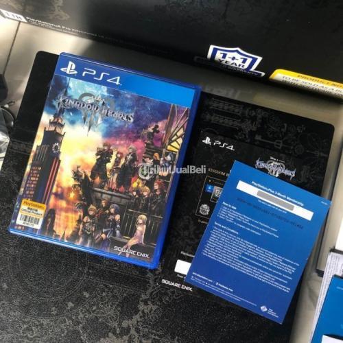 Konsol Game Sony PS4 PRO Kingdom Hearts III Limited Edition Second Normal - Surabaya