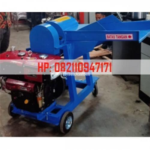 Mesin Potong Rumput Pakan Ternak Mesin Chopper Sistem Portabel - Bogor