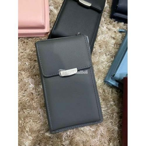 Sling Bag Mini Size 11.5 x 17.5 x 3.5 cm Bahan Kulit Sintetis Tali Panjang - Semarang