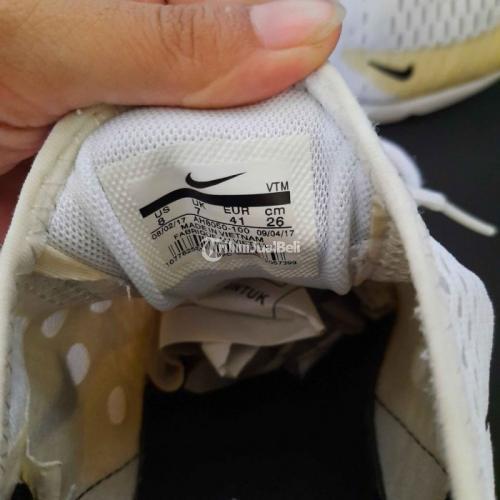 Sepatu Sneakers Nike Air 270 Size 40 Insole 26cm Bekas Like New - Jakarta