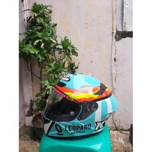 Helm Full Face KYT TT Course Jaume Leopard Size M Bekas Mulus Fullset - Jakarta