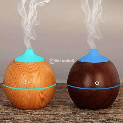 Humidifier Ultrasonic Aromatherapy Oil Diffuser 130ml - K-H120B 7 Lampu LED - Sleman