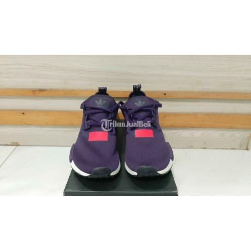 Sepatu Adidas NMD R1 Legend Purple Original 100% With Box Mulus Like New - Sidoarjo