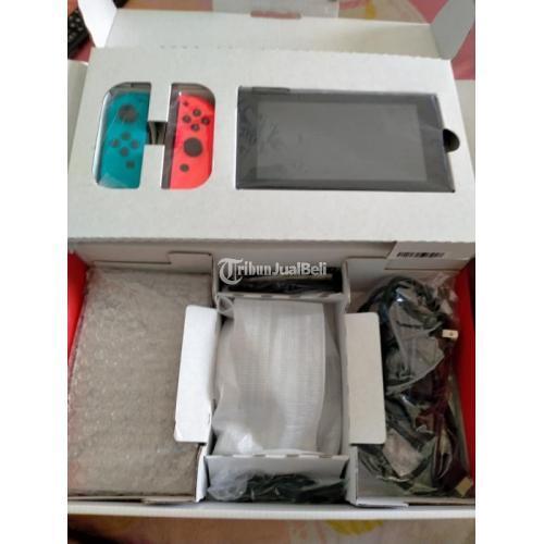 Konsol Nintendo Switch V2 Plus Game Bekas Mulus Like New Normal - Sidoarjo