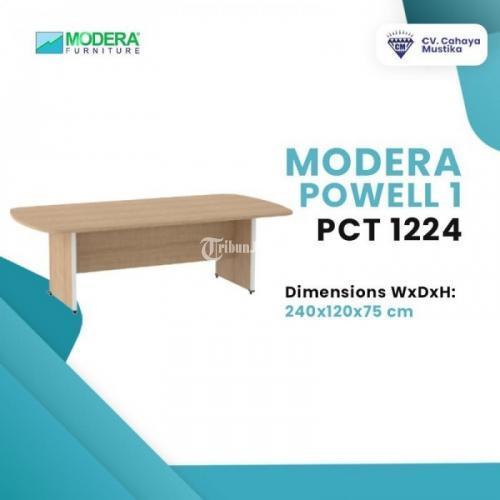 Meja Meeting Rapat di Malang Modera Powel 1 PCT 1224 Banyak Variannya - Malang