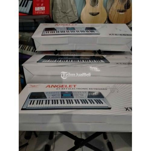 Keyboard Angelet XTS-966 Bekas Fungsi Normal Cocok untuk Pemula - Tangerang