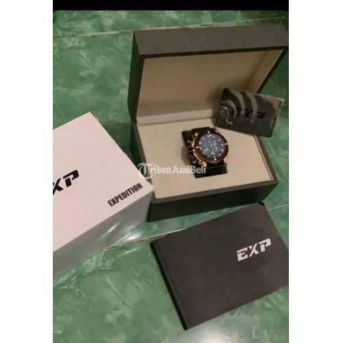 Jam Tangan Expedition EXP 3009M Bekas Fullset Fungsi Normal Mulus - Sampang