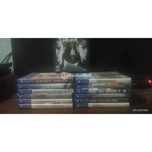 Konsol Game Sony PS4 Fat 500GB Versi 8.03 Original CUH 1003A Second - Bangkalan