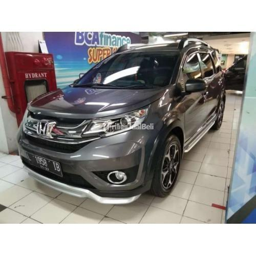 Mobil SUV Honda BR-V E Prestige AT 2017 Bekas Surat Lengkap Pajak On - Surabaya