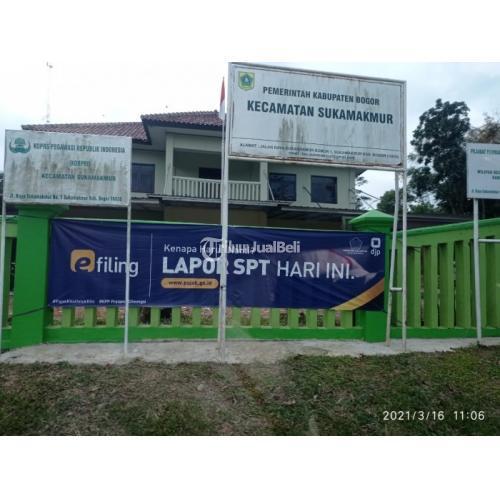 Dijual Tanah Kavling Luas 100 m2 Dekat Fasilitas Umum Legalitas IMB - Bogor
