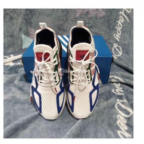 Sepatu Adidas ZX 2K BOOTS White Fz4839 Baru Original Garansi Uang Kembali - Sukoharjo