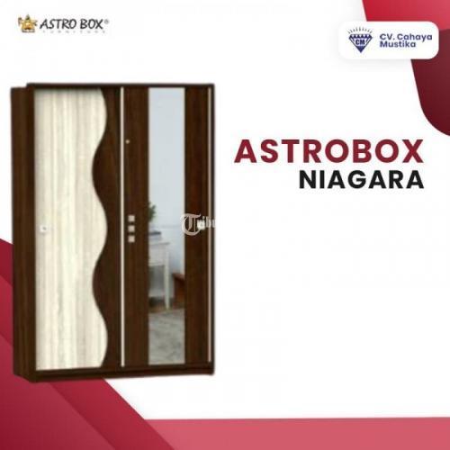 Model Lemari Pakaian 2 Pintu  Astrobox Niagara Banyak Varian - Malang