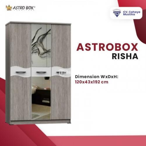 Harga Lemari Pakaian 3 Pintu Astrobox Risha Banyak Pilihan - Malang