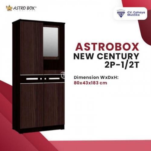 Lemari Baju Astrobox Newcentury 2P-1/2T Kualitas Terbaik - Malang