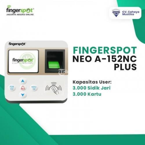 Fingerprint Mesin Absensi Sidik Jari Malang Fingerspot NEO A152NC Plus - Malang