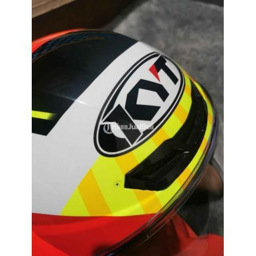 Helm Full Face KYT TT Course Jaume Masia Size L Second Good Condition - Denpasar