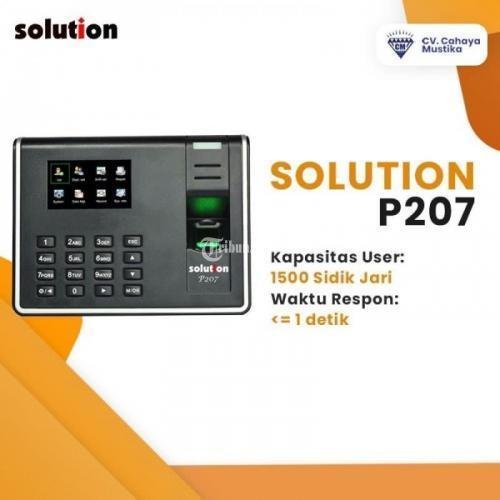 Harga Mesin Absensi Ceklok Fingerprint Solution P208 Baru Kualitas Terbaik - Malang