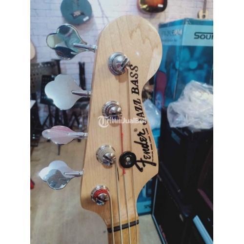 Bass Fender Jazz Kondisi Bekas Fungsi Normal Harga Promo Murah - Surabaya