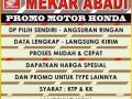 Sepeda Motor Honda Berbagai Jenis Bisa Kredit DP Murah Diskon - Jakarta