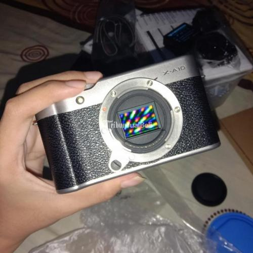 Kamera Fujfilm XA10 Fullset Bekas Mulus No Minus Harga Nego - Bogor