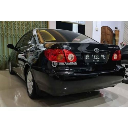 Mobil Toyota Corolla Altis 2002 Warna Hitam Bekas NormalPajak baru - Kulon Progo