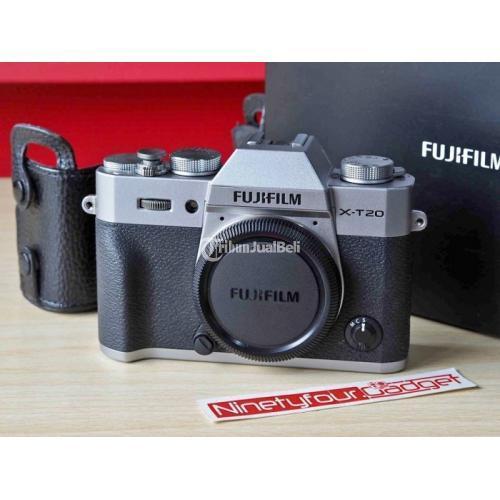 Kamera Mirrorless Fujifilm XT20 Body Only Fullset Like New Ex FFID Bekas - Semarang