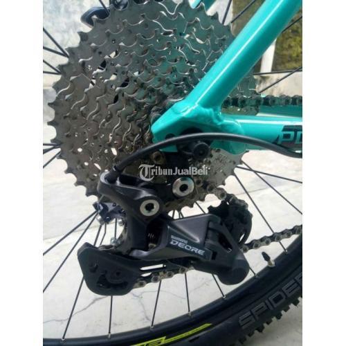 Sepeda Polygon Xtrada 5 Limited Edition Blue Fram M Alloy Bekas Normal - Cirebon