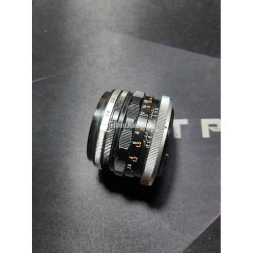 Lensa Canon FL 50mm F1.8 Bekas Kondisi Normal Mulus No Jamur - Bekasi