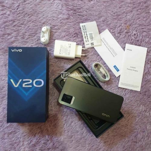 HP Vivo V20 Bekas Mulus Fullset Nominus Harga Nego Tipis - Denpasar