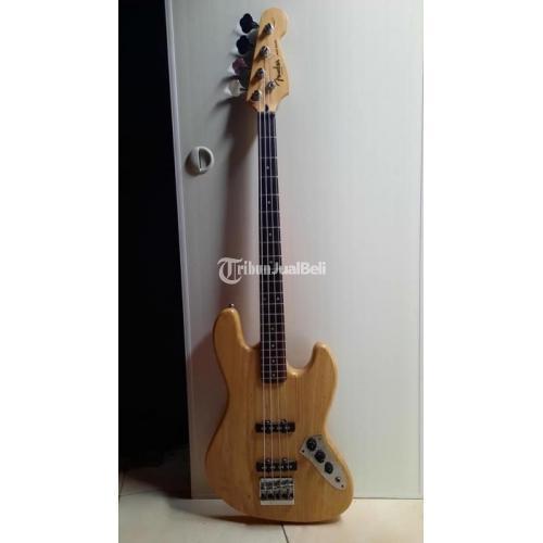 Gitar Fender Jazz Bass Custom Bekas Mulus No Minus Harga Nego - Jakarta Selatan