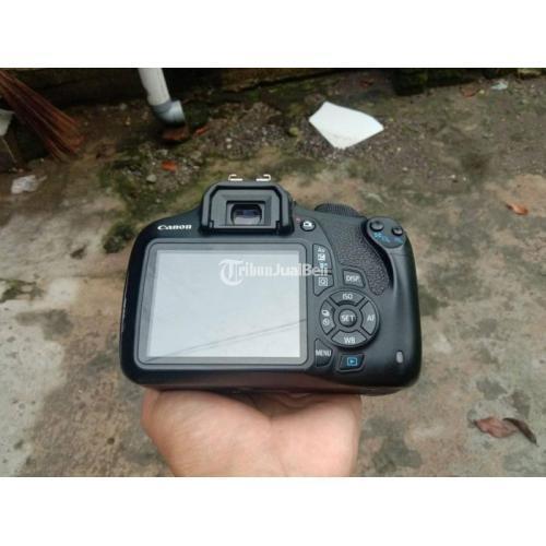 Kamera Canon 1200D Lensa Kit 18-55mm Bekas Fullset Mulus No Jamur - Yogyakarta