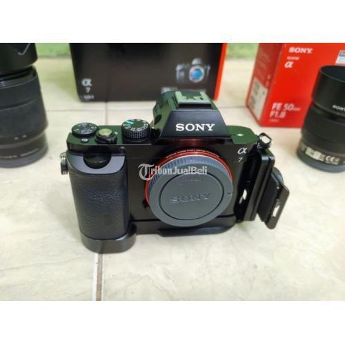 Kamera Sony A7 Klasik Fullset Bekas Fungsi Normal Bonus Baterai 2 - Sukabumi