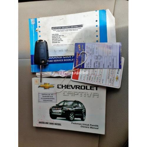 Mobil Chevrolet Captiva 2011 Diesel Matic Mesin Halus Bekas Bisa Kredit - Surabaya