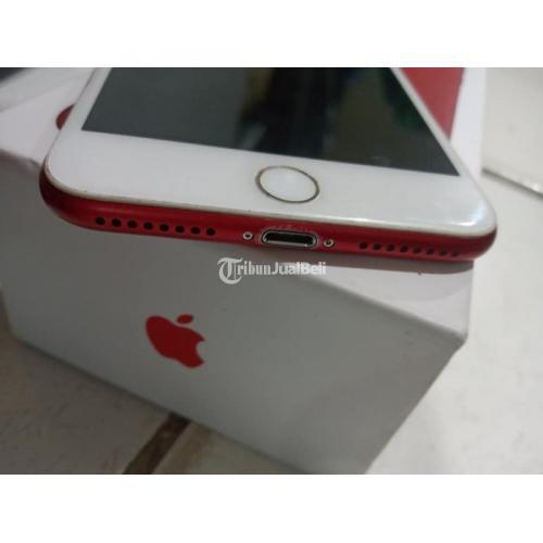 HP iPhone 7 Plus 32Gb Red Fullset Bekas Mulus No Minus Bisa TT - Jakarta Barat