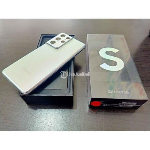 HP Samsung S21 Ultra 12/256GB Bekas Lengkap Mulus Terawat Garansi On - Makassar