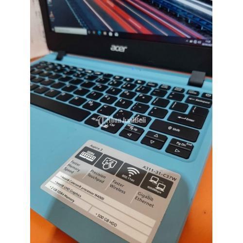 Notebook Acer ES1-132 Ram 2GB HDD 500GB Bekas Fullset Like New - Pontianak