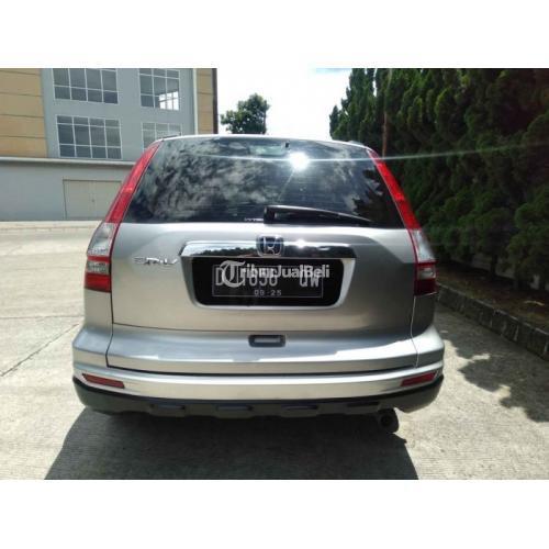 Mobil SUV Honda CRV Matic 2.4 2011 Gen 3 Bekas Sehat Surat Lengkap - Bandung
