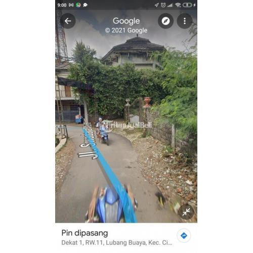 Jual Cepat Tanah Strategis Harga Murah Lokasi Lubang Buaya Jaktim - Jakarta