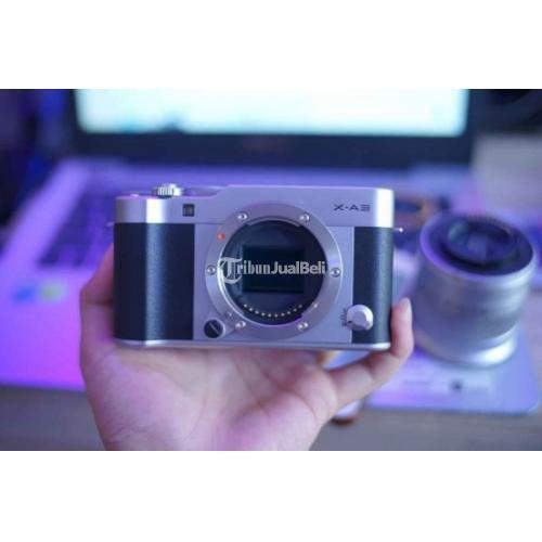 Kamera Fujifilm X-A3 No Box Bekas Normal Mulus Lensa Kit 16-50mm - Jakarta Utara