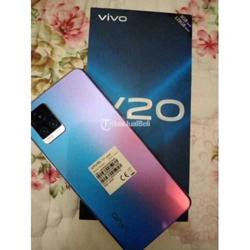 HP Vivo V20 Layar 6.44 inc Fullset Bekas Normal Mulus No Minus - Medan