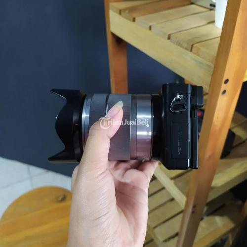 Kamera Mirrorless Sony A6000 Fullset Box Bekas Normal Nominus - Bandung